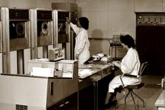 Centrum komputerowe WSI - lata 70