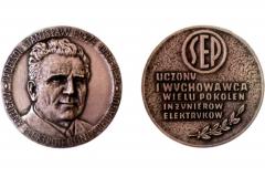 Medal Stowarzyszenia Elektryków Polskich dla Wydziału - 2010r