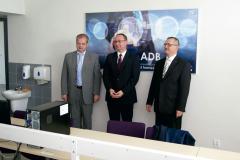 Otwarcie Laboratorium Systemów Multimedialnych pod patronatem ADB - 2015r