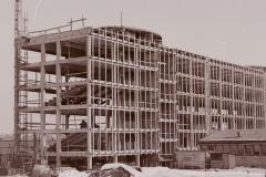 Siedziba Wydziału w budowie - Lata 70_2