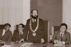 Władze Wyższej Skoły Inżynierskiej - lata 70